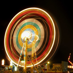 Wheel (Baqir Ali) Tags: longexposure light music toronto ontario canada art wheel night concert digitalart explore northamerica geo geotag markham hazara furn olympusevolte500 abigfave theunforgettablepictures platinumheartaward southasianmusic olympuszuikodigital40150mm olympuszuikodigital14145mm markhamfairground pakistanilivemusicconcert