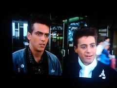 """cool"" dudes at the mall (MacQ) Tags: film movie teens teen teenager 1985 adolescent teenage adolescence johnhughes weirdscience"