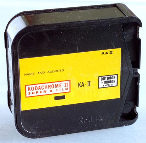 super 8 Kodak cartridge