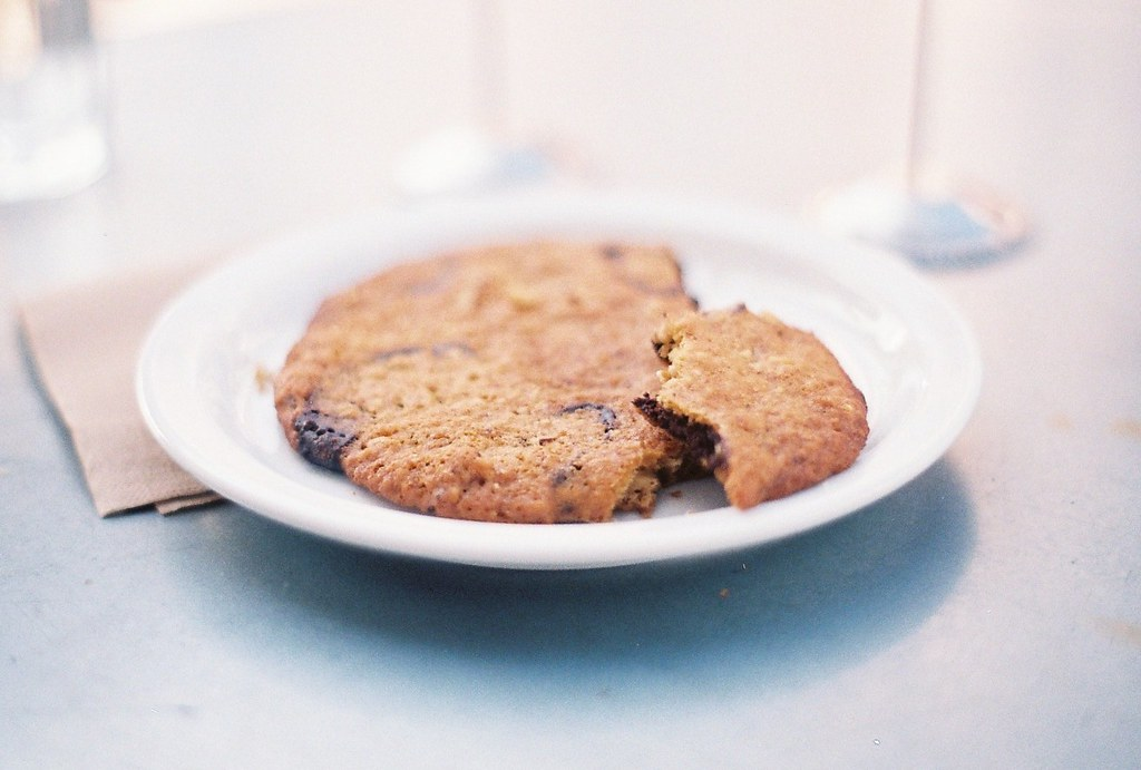 chocolate chip cookie from Tartine Bakery
