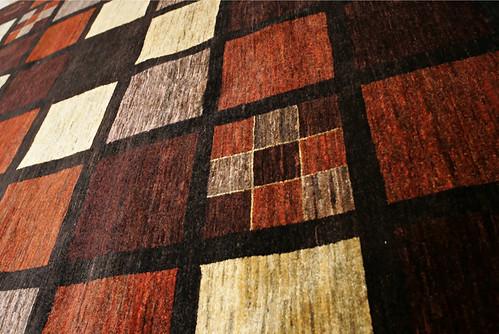 Terra Afghan Oriental carpet