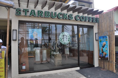 starbucks in boracay