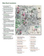 Suffolk University Bike Parking Map