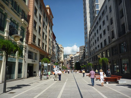 Calles de Oviedo Foto 3
