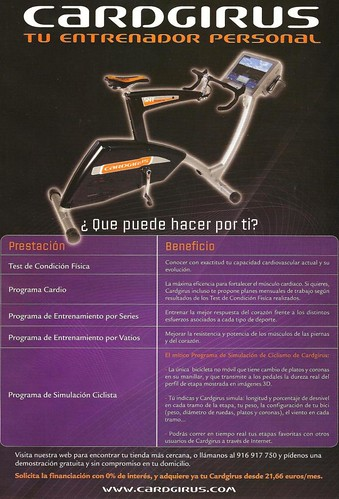 cardgirus bicicleta virtual
