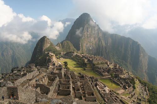 Machu Picchu - the classic view