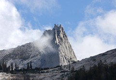 Cathedral Peak / Yosemite National Park (Ron Wolf) Tags: nature landscape nationalpark peak sierra glacier yosemitenationalpark geology geomorphology earthscience glaciation nunatak