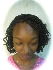 Adorable Kinky Twists (mrsjehaan) Tags: black hair beads longhair bob twist shorthair ponytail braids naturalhair weave coils extensions locs shreds afropuff nappyhair crimps dreadlocs microbraids kinkytwist blackhairstyles combtwist scalpbraids