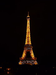 Eiffel Tower, Paris, France (balavenise) Tags: city paris france tower cit eiffeltower ciudad eiffel icon ville worldicon