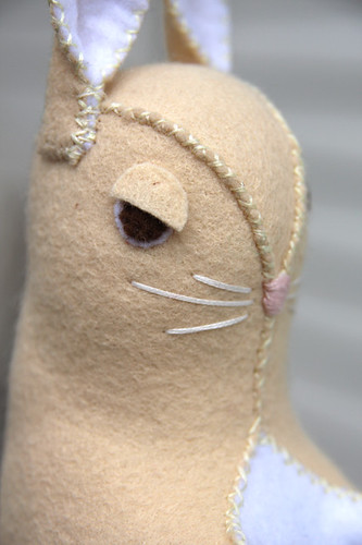 Angry bunny eyes