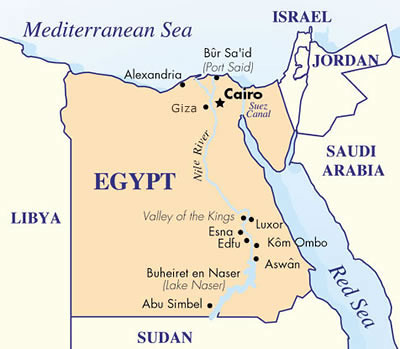 Egypt Located in The Northen Part of Africa holidays and vacation to Egypt