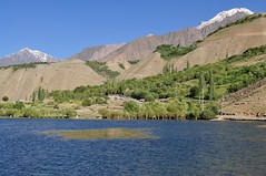 Beautiful Blue in Gupis Pakistan (Qasim Jadoon) Tags: pakistan lake nature water beautiful valley gilgit qasim gupis