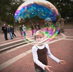 Bubble Head (A. Strakey) Tags: nyc ny newyork centralpark manhattan promenade bubble gothamist cp newyorkny bethesdafountain bethesdaterrace bubblehead theramble thebigapple angelofthewatersfountain thewaterterrace theheartofcentralpark