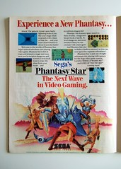 Phantasy Star print ad