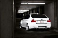 ADV.1 BMW M3 on ADV 10.1 Wheels (GREATONE!) Tags: white night one 1 nikon florida miami garage parking wheels sb600 tires mia bmw m3 rims advance fla adv 305 nitto bimmer d300 sb800 e92 invo