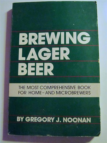 Noonan: Brewing Lager Beer (front cover)