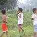 Baliwag kids flying a kite