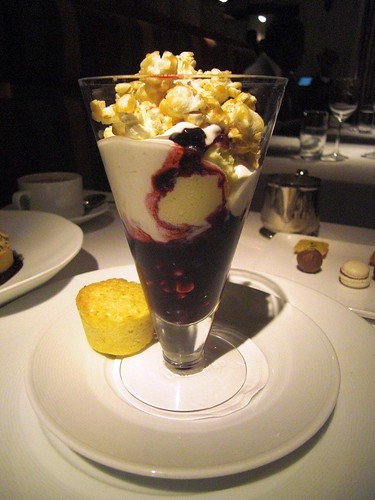 Blueberry Corn Sundae