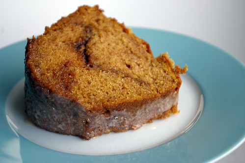 Sour Cream Pumpkin Bundt Cake with Streusel
