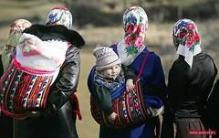 Mother & child, Rhodopes, Bulgaria (ali eminov) Tags: women muslimwomen pomaks mothers children rhodope bulgaria mothersandchildren