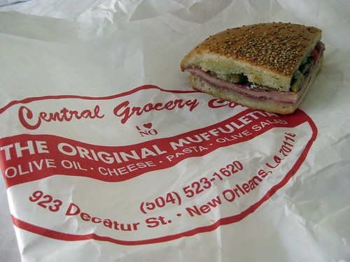 Day 3 - Central Grocery - Italian Muffuletta