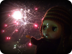georgie girl and the fireworks...3 of 4