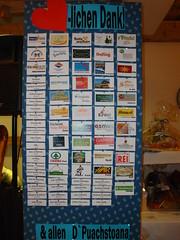 SponsorenTafel (Trachtenverein D`Puachstoana) Tags: 2009 puch kirchenwirt dirndldrara