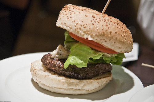 Aberdeen Angus Burger with Blue Cheese Dressing