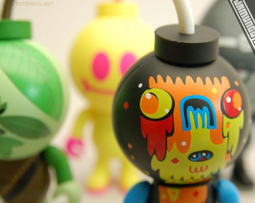 BUD series 3 by designer Jon-Burgerman