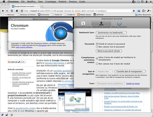 Mac Chromium 4.0.246.0 (31808) - prefs sync bookmarks