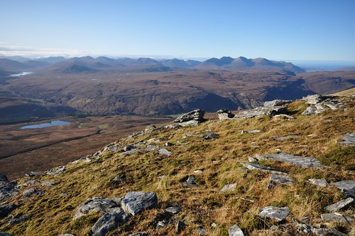 An Teallach from Beinn Enaiglair