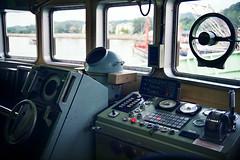 Maritime : Inside The Bridge (W  M Soo) Tags: vessel nikonf100 malaysia terengganu fujisuperia200 nikkor50mmf18d wansoo wmsoo