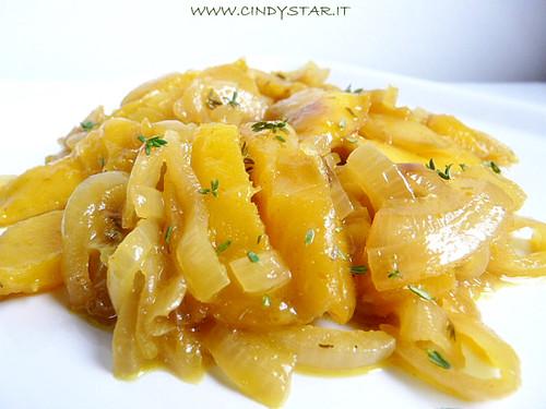 chutney mango e cipolle
