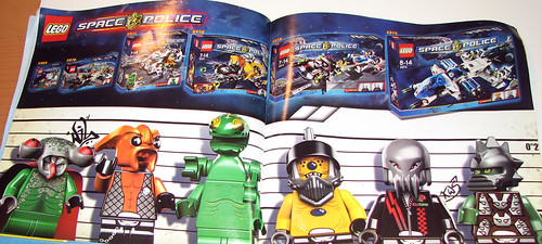 LEGO Space Police 2010 5982 Smash 'n' Grab - Ad in Manual