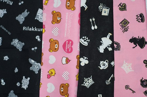 japanese kawaii fabric