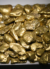 gold nuggets from Washington