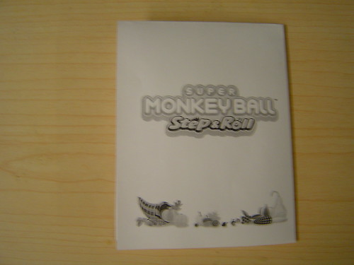 Super Monkey Ball Thanksgiving Card