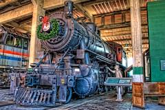 1918 Alco 2-10-0 Decapod (Carolinadoug) Tags: railroad museum train geotagged nc nikon northcarolina steam spencer hdr steamengine topaz 2100 alco decapod photomatix tonemapped d80 americanlocomotivecompany dougjohnson nctransportationmuseum topazadjust geo:lon=80435613 geo:lat=35686496 bigjohnsonphotoblogspotcom