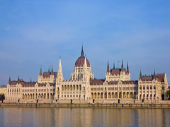 Houses of Parliament, Budapest, Hungary (Frans.Sellies (off for a while)) Tags: hungary budapest parliament ungarn danube donau orszghz magyarorszg hungra imresteindl