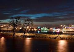 River Front at Night