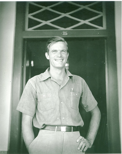 Hugo Curran at the Empress Hotel, Makassar