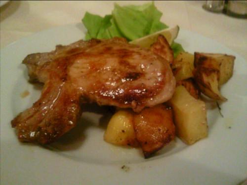 Pork at Trattoria da Sergio,Lucca,Tuscany