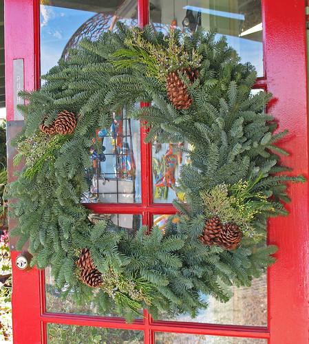 Fresh Christmas wreath