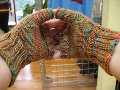 Earthy gloves