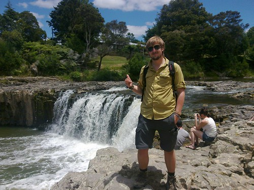Me @ Haruru Falls