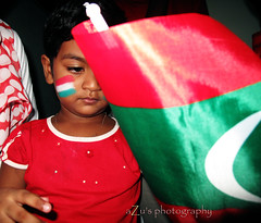 for the Maldivian Nation, we  our Nation (Aishath Azleena) Tags: life red white green eye beauty emotion hopes poops maldives alin azu poopsy canonpowershotg10 saffchampionship2009