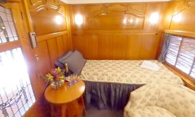 Rail Car - Prince of Wales Carriage - Mountbatten Suite Australia