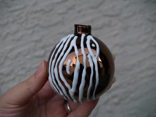 Faux Bois ornament Step 4