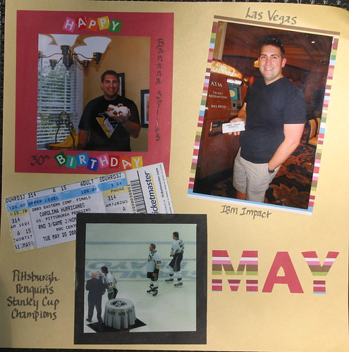 May scrapbook pagea