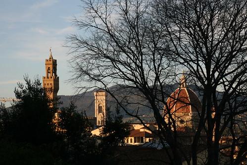 Florence from Bardini Peyron Gardens